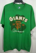 New Genuine Merchandise 1958 Giants San Francisco St. Patrick Tee Size L