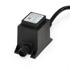 NEW Aquascape 6 Watt Transformer for LED Pond and Garden Lighting 12 Volt 98375