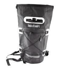 Lextek Waterproof Motorcycle Scooter Luggage Seat Tail Bag Backpack 30L Black