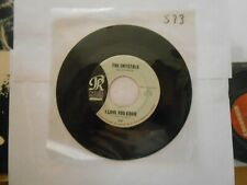 45 RECORD THE CRYSTALS I LOVE YOU EDDIE B/W HE'S A REBEL
