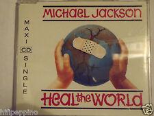 "MICHAEL JACKSON ""HEAL THE WORLD"" CD MAXI SINGLE"