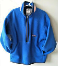 PATAGONIA 1/2 Zip Fleece Pullover Kids size Small 5/6  Blue Outerwear