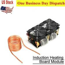 12V-48V 1800W ZVS Induction Heating Board Module Flyback Driver Heater with coil