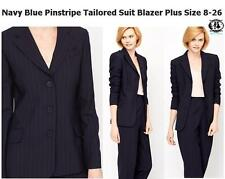 Plus Size Pinstriped Suits & Tailoring for Women