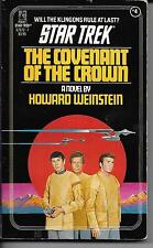 STAR TREK No.4 Covenant Of The Crown by Weinstein 1981 paperback book