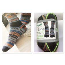 8x150g je 1 Fb im Set 6fach Wollpaket Sockenwolle Gründl Hot Socks Lago
