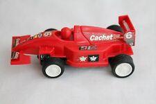 Red Slot Car Flat Indy F-1 Race Car *