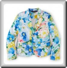 New Polo Ralph Laure, Girl's Floral blazer 8yr   RRP £165