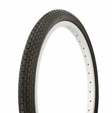 """Dragster Lowrider Bicycle Tire Duro 20"""" x 1.75"""" Black/Black Side Wall HF-120A"""