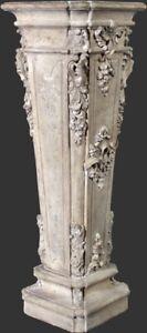 Chigi Della Pedestal  for bust statues Home unique art decor