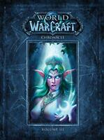 World of Warcraft Chronicle Volume 3 by Blizzard Entertainment, NEW Book, FREE &