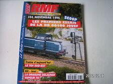 **b RMF n°384  TGV Sud Est / Noeud ferroviaire d'Arcange / Taquets d'aiguillage