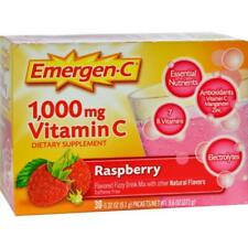 Emergen-C 1000mg Vitamin C Raspberry Flavor Powder - 30 Count