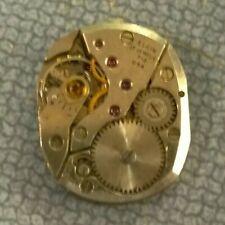 Elgin 712 17j Men's Wristwatch - Watchmaker Repair Parts