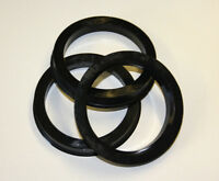 Bagues de centrage anneaux pour aluminium chromé JANTES 73,1 auf 60,1 plastique