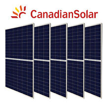 4 x 285W Canadian Solar poly Solar Panel panneau solaire cottage house