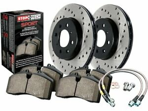 For 2003-2005 Mercedes S430 Brake Pad and Rotor Kit Rear Centric 73513BM 2004