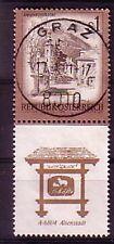 Austria marchio con 'appendice' timbrato andate (interno: 30)
