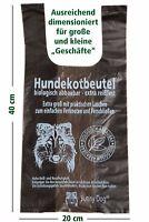 200 Hundekotbeutel mit praktischen Henkeln zum Verschließen-biologisch abbaubar