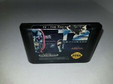 T2: The Arcade Game (Sega Genesis, 1992) Cartridge Only Cleaned & Tested A28