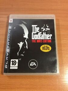 PS3 The Godfather The Dons Edition - PAL European Version
