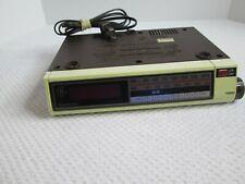 Vintage Ge Space Maker #7-4212A Am/Fm Clock Radio Under cabinet radio