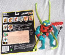 GI JOE Cobra HASBRO 1993 Bio-vipères (Bio-Viper) 100 % complet + carte