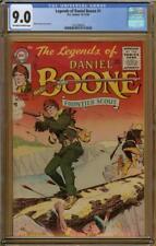 Legends of Daniel Boone #1 CGC 9.0 NEW HIGHEST GRADED COPY!!