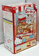 Miniatures Sanrio Hello Kitty Display Showcase Box Set - Re-ment , hok
