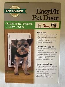 PetSafe Easy Fit Pet Door Small Dogs 1-12 lbs  Four Easy Steps to Install