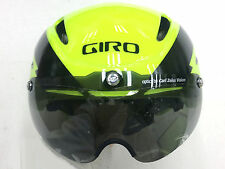 GIRO 2016 AIR ATTACK SHIELD HELMET NEON YELLOW/BLACK MEDIUM BRAND NEW 7054621