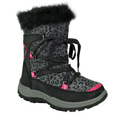 NEW KIDS GIRLS LADIES WINTER SNOW MOON MUCKER WATERPROOF WELLINGTON BOOT SHOE