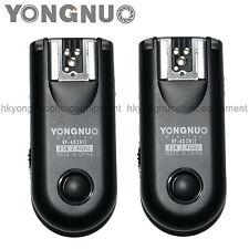 Yongnuo RF-603 II Flash Trigger for Nikon D5500 D5100 D3200 D3300 D600 D90