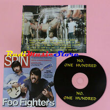CD FOO FIGHTERS Noone hundred 2005 bulgaria PROMO SPIN(Xs5) lp mc dvd vhs