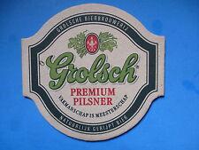 Beer Coaster: Grolsch Premium Pilsener - GROLSCH Bierbrouwerij ~ The Netherlands