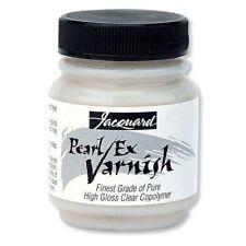 Jacquard PEARL EX VARNISH 70ml Use with Pearl Ex Pigments Mix Media/Craft/Art