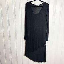One X Teaspoon Black Hi Low Dress Size Small Goth