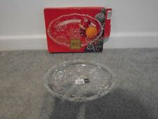 "Mikasa Made In Germany Snowflake Sweet Dish 9 1/4"" New In Box"