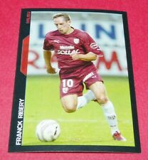 118 FRANCK RIBERY FC METZ LORRAINE ROOKIE PANINI FOOTBALL SUPER FOOT 2005 2006
