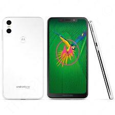 Unlocked Motorola One Android XT1941 Smartphone GSM - 64GB (White)