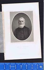 Reverend John Flavel Wright, NC- 1862 Steel Engraved Print plus BONUS