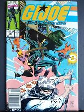 G.I. Joe #111 NM- 9.2 🔥 NEWSSTAND Marvel Comics HTF Scarce Low print run Rare