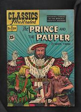 Classics Illustrated #29 Fine- Hrn93 (The Prince And The Pauper)