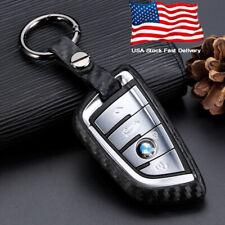 Car Key Case Carbon Fiber Scratch Proof Accessories For BMW 5 7 Series X3 X5 X6