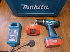 MAKITA 6282D 14V CORDLESS DRILL WITH 2 X BATTERIES CASE AND CHARGER