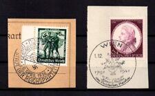 Deutsches Reich, Michel Nr. 663 + 810 auf Briefstück mit Sonderstempel.