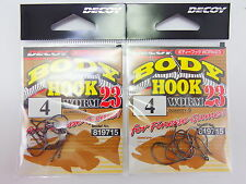 Worm 23 Body Hook for Wacky Rig Size 4 (9715) Decoy