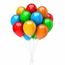 100 White BALLOON STICKS Baloon Holder with Cups Plastic Sticks