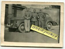 Foto : schwerer WH-Beute-PKW / Limousine Typ ??? in Reval 1942