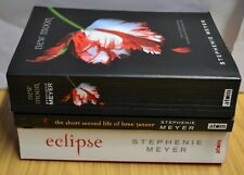 3 x Paperback Book Collection The Twilight Saga Stephenie Meyer Eclipse New Moon
